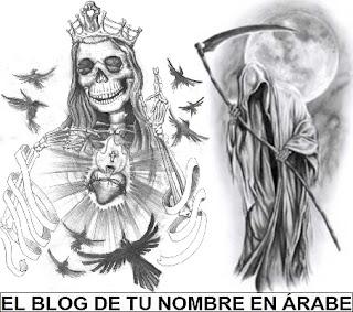 Diseños de la santa muerte para tattoos