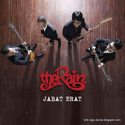 Sampul Album Jabat Erat - The Rain