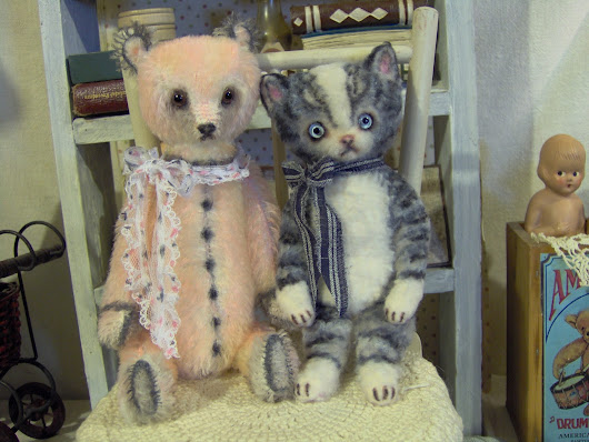 New teddy bears and kitty available for adoption *~*