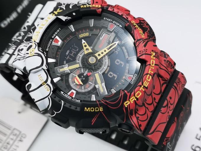 G-Shock x One Piece  GA-110JOP ลูฟี่หมวกฟาง