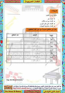 حصريا مذكرة شرح نشيد الكون المشرق من منهج اللغة العربية للصف الاول الابتدئي الترم الثاني 2020