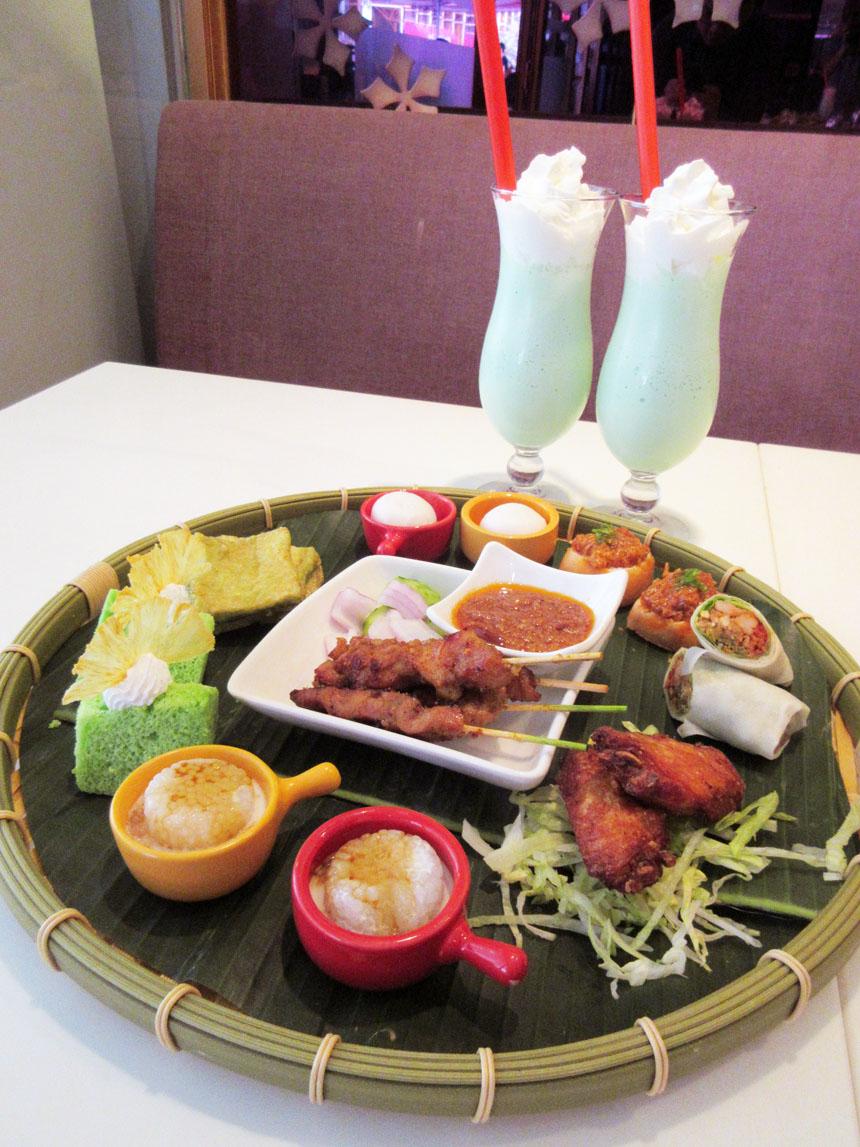 Herbert的飲食玩體驗: 沙嗲軒 Satay Inn - 新加坡.嚐味.下午茶 ~ 滿有新加坡風情的下午