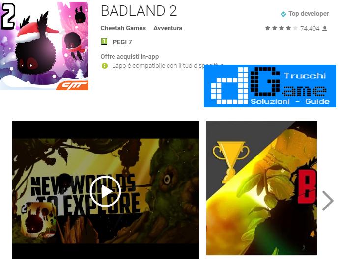 Trucchi BADLAND 2 Mod Apk Android vv1.0.0.1052