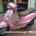 Sơn xe máy Attila Elizabeth màu hồng cực đẹp
