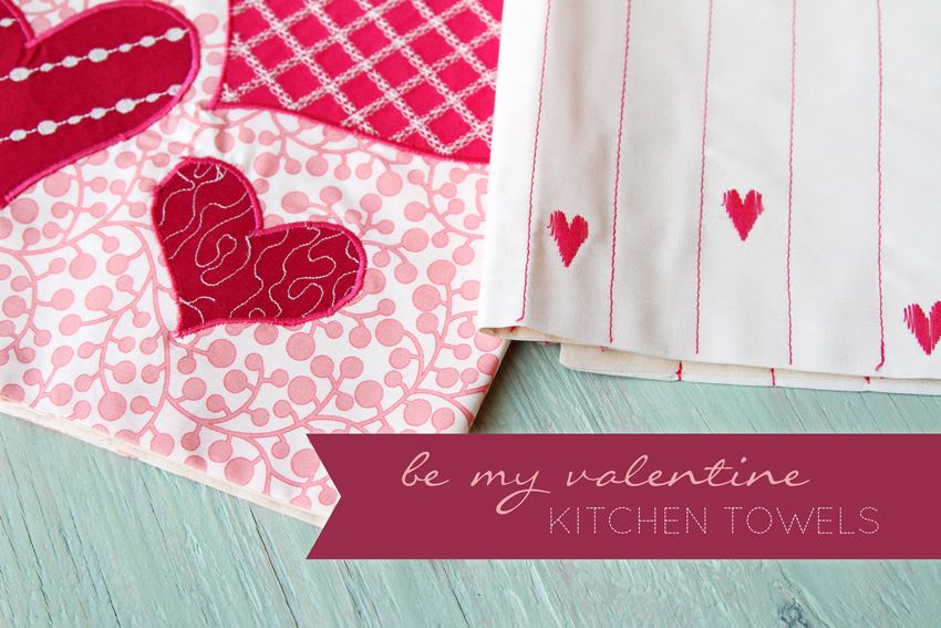 28 Sophisticated Valentine Kitchen Towels That You Obviously Must See