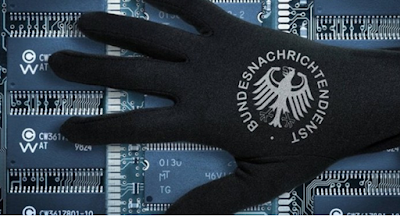 The German secret services spied foreign media