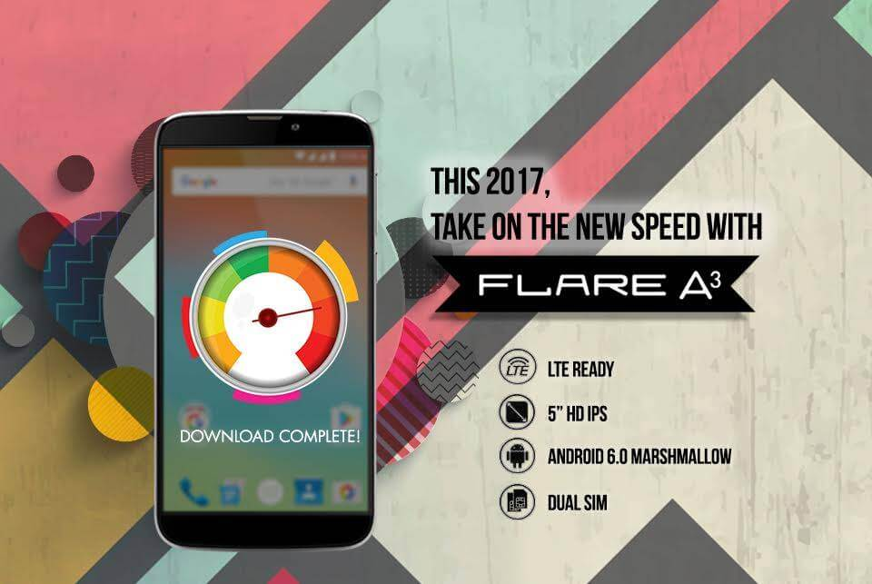 Cherry Mobile Flare A3 – Faster Internet and Download Speed with LTE