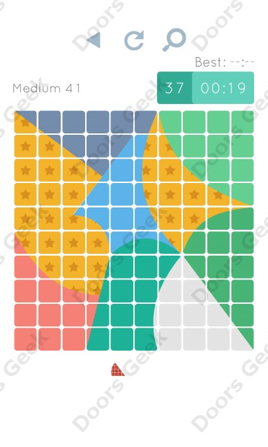 Cheats, Walkthrough for Blocks and Shapes Medium Level 41