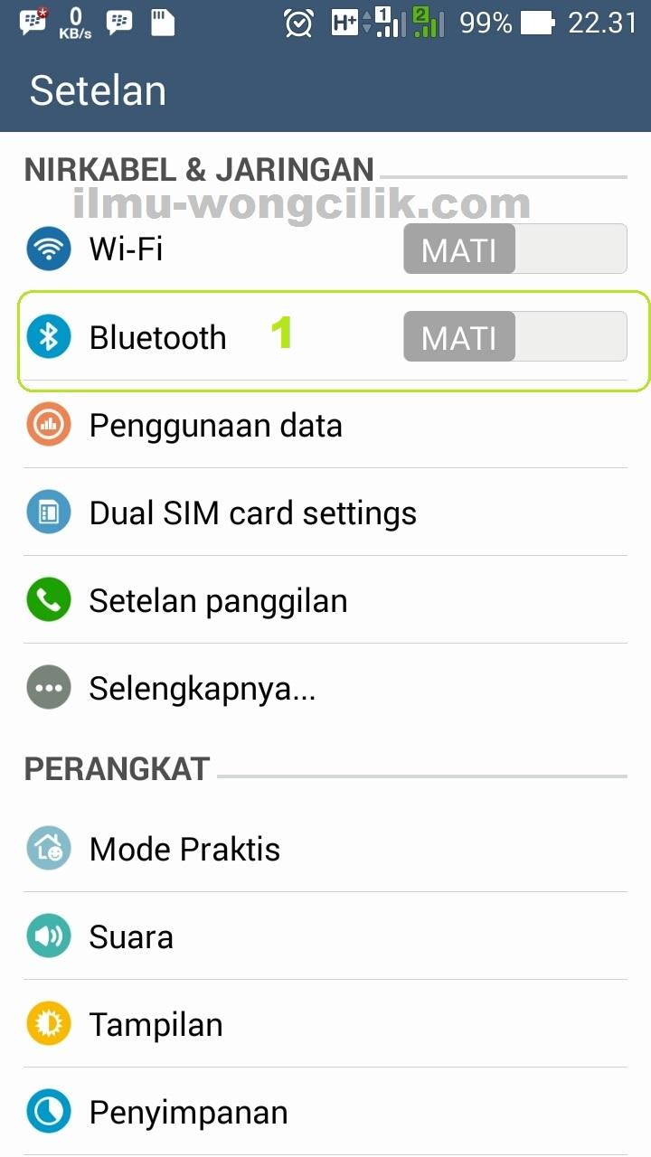 Cara Mudah Merubah Nama Bluetooth Di Semua Android - CARA