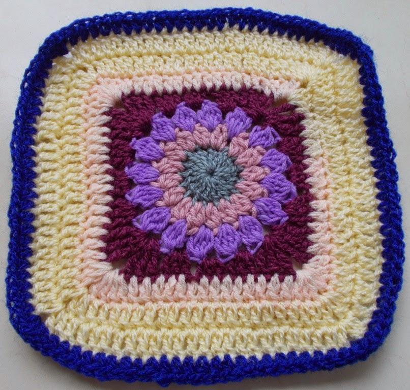 free crochet granny square pattern,free crochet flower motif, free crochet flower granny square pattern, Project Chemo Crochet, Crochet donation pattern, Oswal Cashmilon acrylic yarn, Vardhaman Millenium acrylic yarn