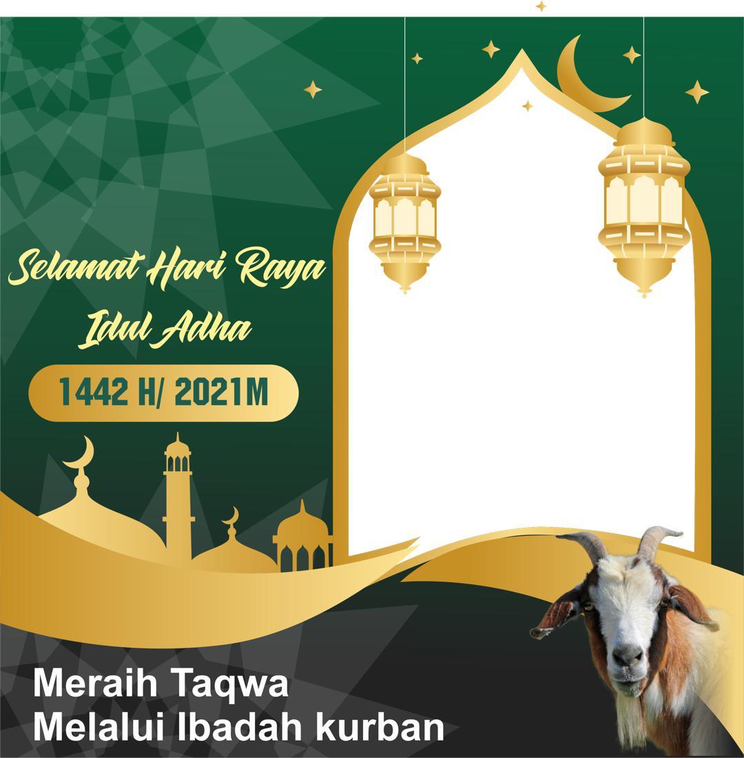 Link Download Bingkai Foto Twibbon Ucapan Selamat Hari Raya Idul Adha 1442 H atau 2021 M
