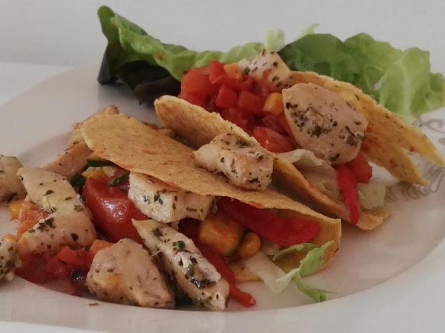 würzige mexikanische Tacos