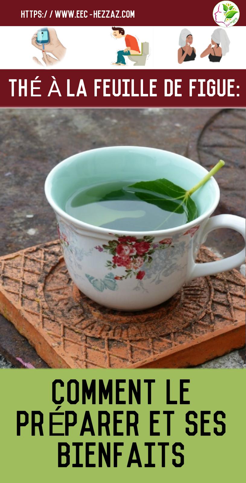 Thé à la feuille de figue: comment le préparer et ses bienfaits