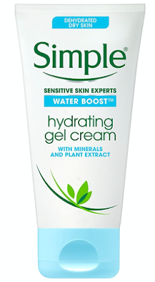 Simple Hydrating Gel Cream To Use After Face Cleansing