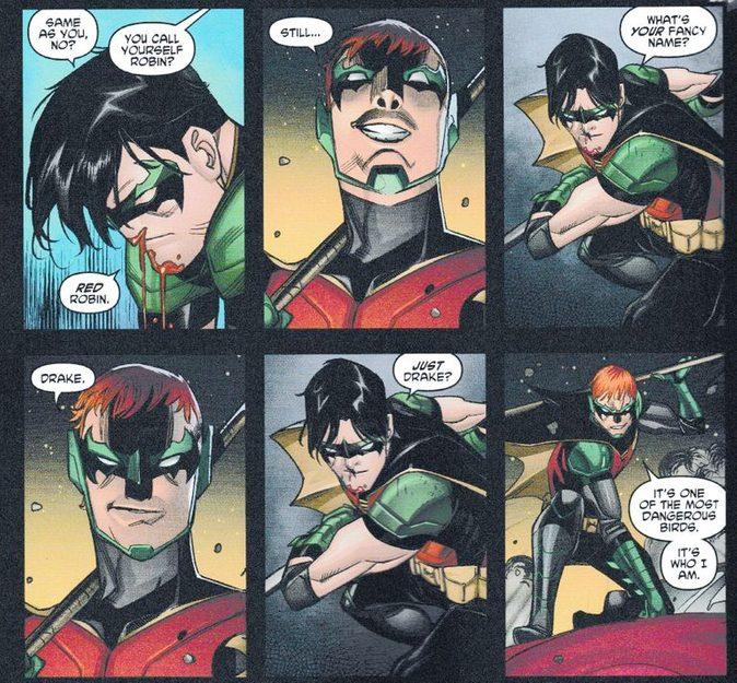 Tim Drake deixa de ser o Robin