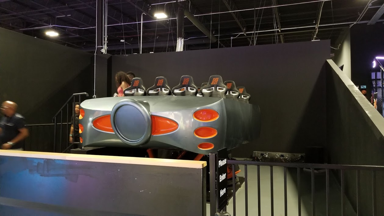 virtual reality (VR) ride, allegiant nonstop