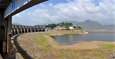 Image result for mettur dam dry image