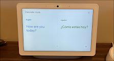 وضع المترجم الفوري على الشاشة الذكية