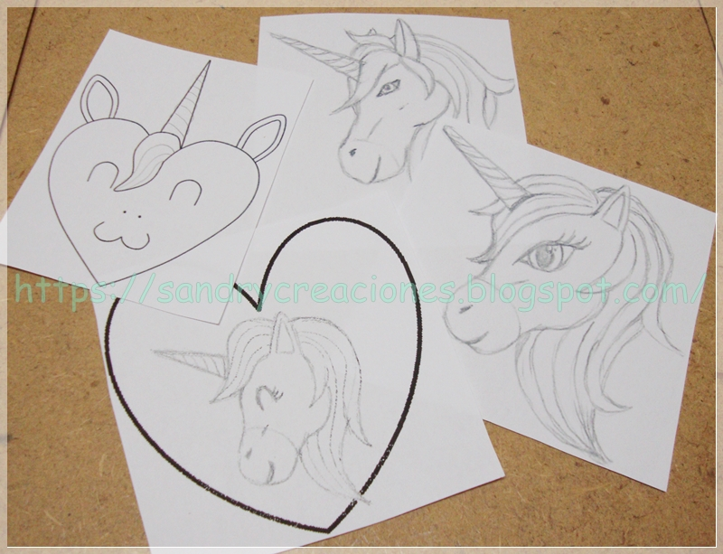 diseños unicornios