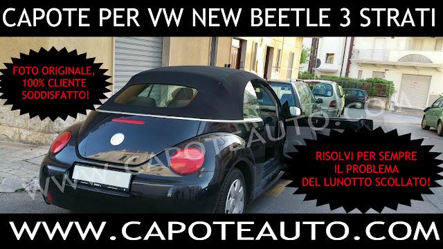 capote new beetle lunotto rinforzato