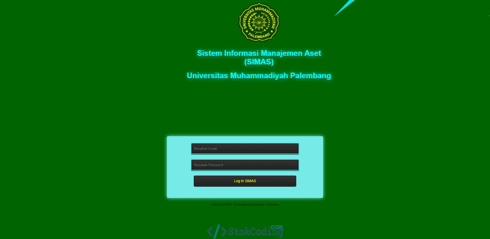 Sistem Aplikasi Informasi Managemen Aset (PHP)
