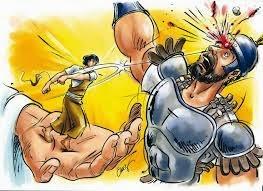 Como davi derrotou Golias?
