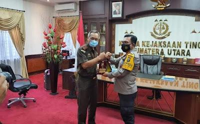 Kapolda Sumut Berkunjung ke Kajatisu Jalin Sinergitas Dukung Pembangunan Nasional
