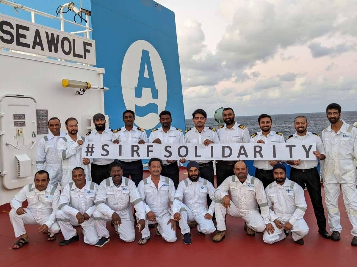 Marinheiros Indianos recebem ajuda Internacional do SIRF
