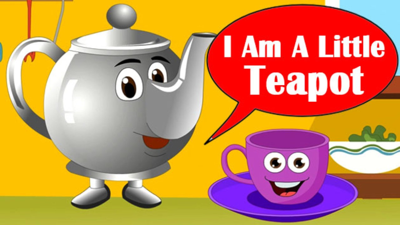 im a little teapot cartoon - photo #2