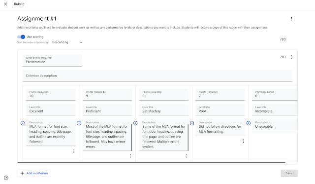 Originality Reports and Rubrics Now Generally Available for Google Classroom Users 2