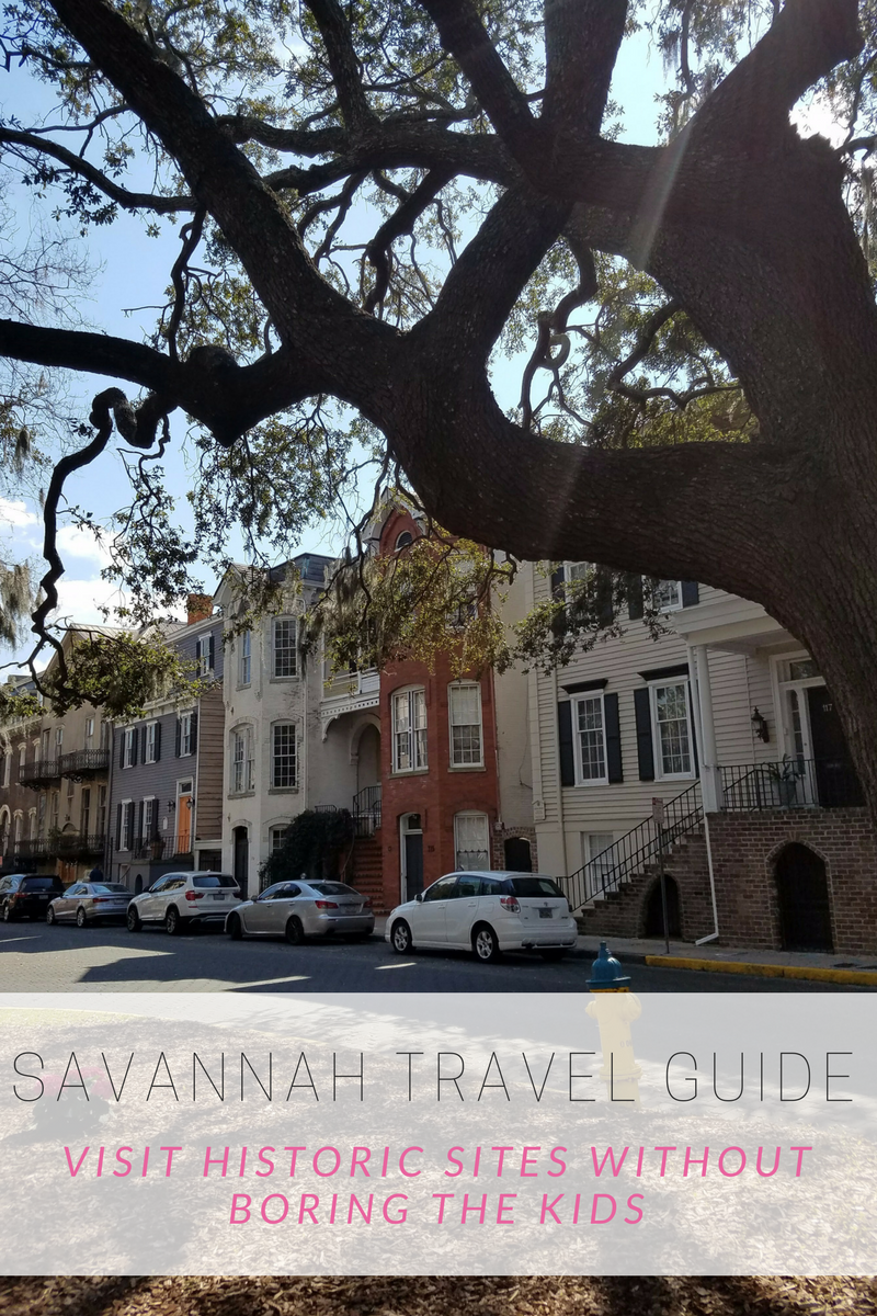 savannah family travel guide