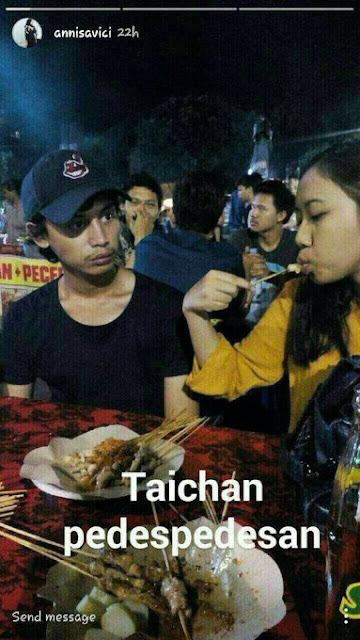 Foto Penampakan Kuntilanak di Warung Sate Taichan