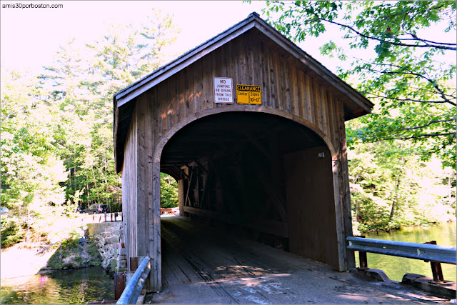 Babb's Covered Bridge en Maine