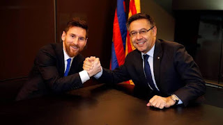Bartomeu: Messi still have 3-4 more years and will retire at Barca