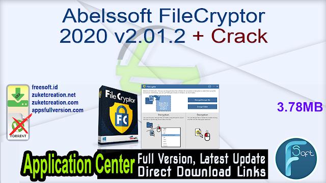 Abelssoft FileCryptor 2020 v2.01.2 + Crack