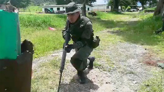 Un grupo de rusos se instaló en un fuerte militar para una misión desconocida en la frontera venezolana