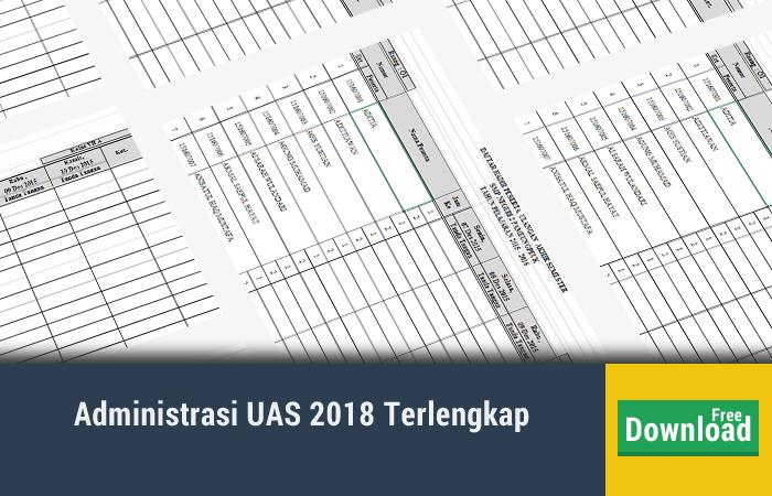 Administrasi UAS 2018 Terlengkap
