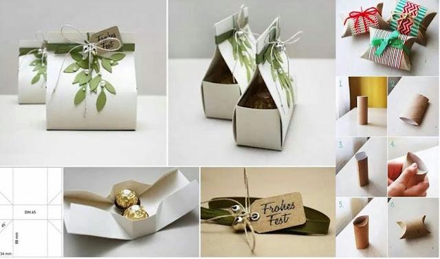 Mukavva ile evde hediye paketi nasıl yapılır?