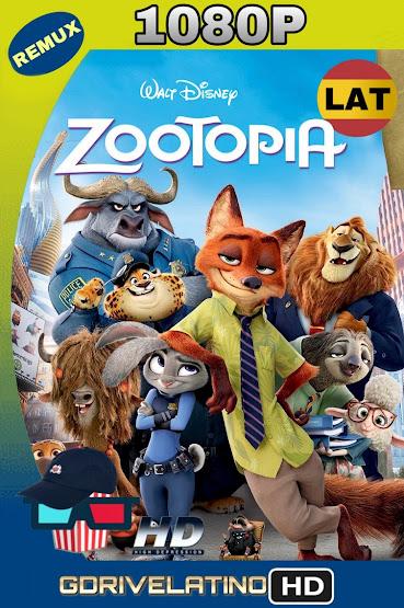 Zootopia (2016) BDRemux 1080p Latino-Ingles MKV