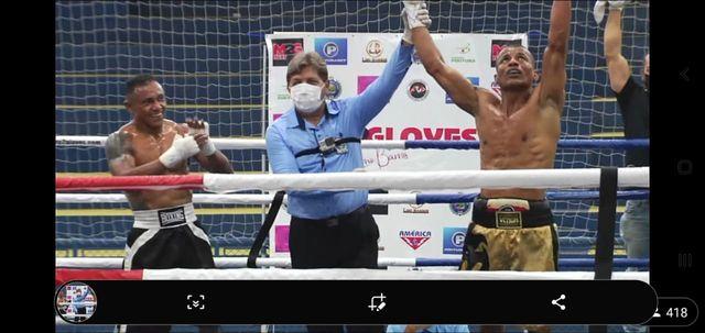 Nenê Silva é destaque registrense no boxe no final de semana