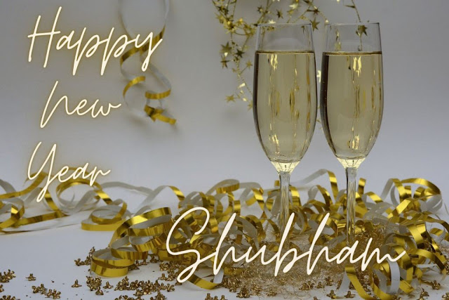 Happy New Year Wishes with Name and Photo