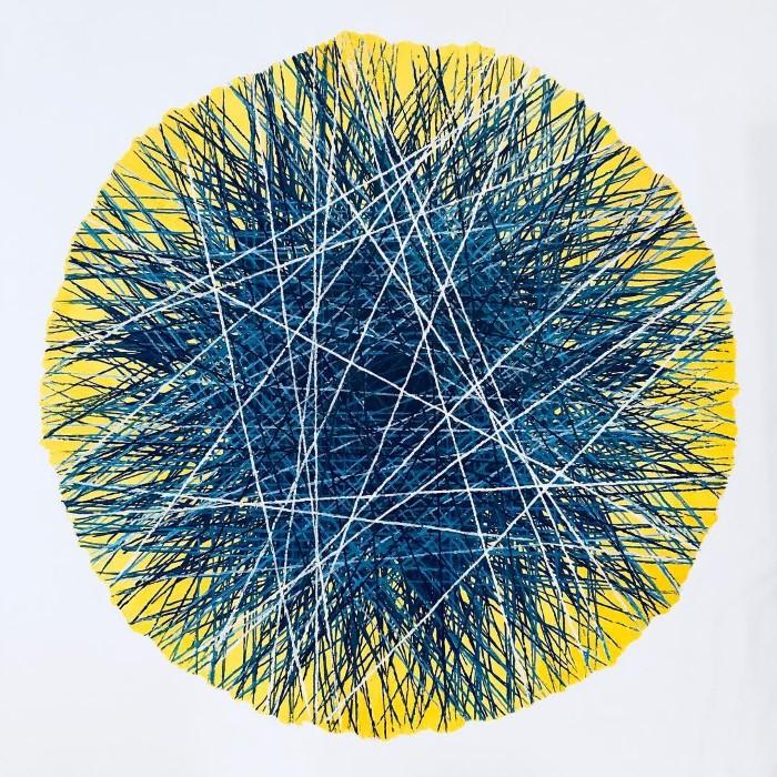 Современный художник-абстракционист. Марина Астахова