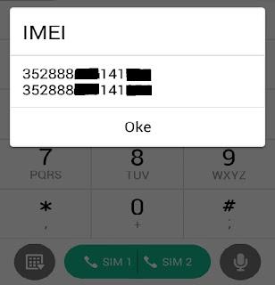 Menggnati IMEI Android Non Mediatek