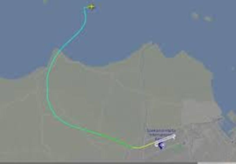 Terlacak di Pantauan Flightradar24, Ini Pergerakan Pesawat Sriwijaya Air SJ182 Sebelum Hilang Kontak