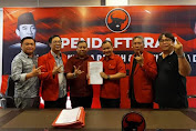 dr Roland Roeroe Kembalikan Formulir Bakal Calon Walikota Tomohon