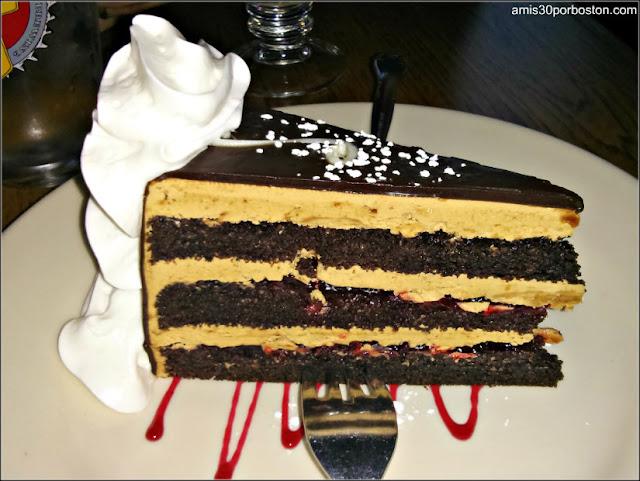 Sacher Torte del Jörg's Cafe Viena en Plano