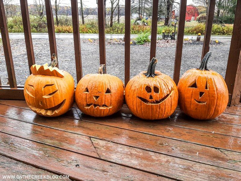 pumpkin carving | On The Creek Blog