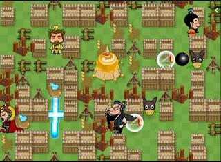 Game đặt bom thời tam quốc hấp dẫn