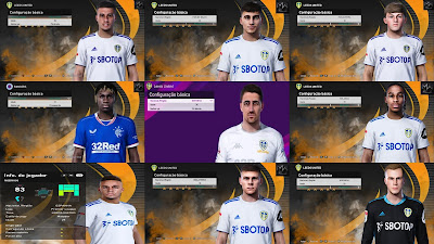 PES 2021 Leeds United Facepack by MW Facemaker