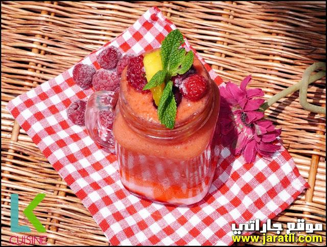 عصير منعش لرمضان بالفلان والفواكه سهل جدا